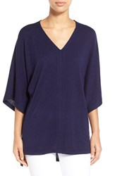Women's Nordstrom Collection Silk And Cashmere V Neck Sweater
