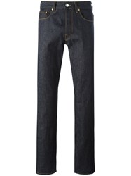 Paul Smith Ps By Wide Leg Jeans Blue