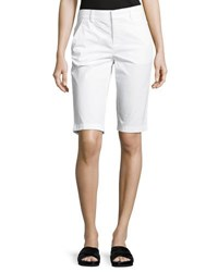 Vince Side Buckle Bermuda Shorts Black