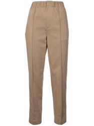 Alexander Wang Front Seam Trousers Nude And Neutrals
