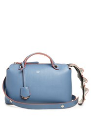 Fendi By The Way Small Wave Tail Cross Body Bag Light Blue