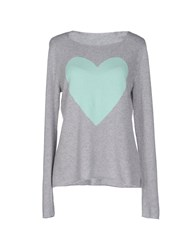 Le Tricot Perugia Sweaters Light Grey