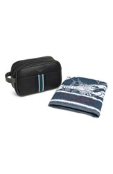 Ted Baker London Travel Kit And Towel Black