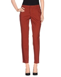 Set Trousers Casual Trousers Women Rust