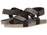 Marc Jacobs Summer Nappa Strappy Sandal Grey Men's Sandals Gray