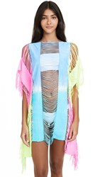 Pilyq Neon Tie Dye Cover Up Dress Multi