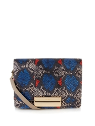 See By Chloe Kristen Small Python Print Cross Body Bag