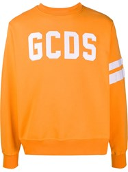 Gcds Embroidered Logo Crew Neck Sweatshirt 60