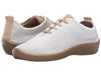Arcopedico Ls White Women's Lace Up Casual Shoes