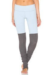 Alo Yoga Goddess Legging Light Blue