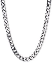 Dkny Large Link Collar Necklace Created For Macy's Hem