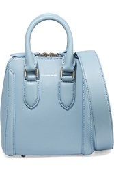 Alexander Mcqueen The Heroine Small Leather Shoulder Bag Blue