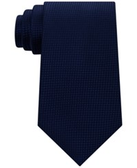 Sean John Men's Textured Solid Tie Navy
