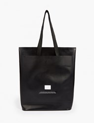 Eytys Black Tarpaulin Small Tote Bag