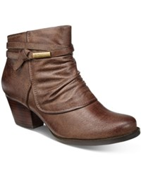 Bare Traps Rhapsody Booties Women's Shoes Mushroom
