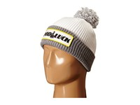 Huf Good Luck Pom Beanie White Grey Heather Beanies