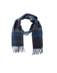 Boss Black Oblong Scarves Dark Blue