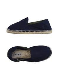 Manebi Footwear Espadrilles Men Dark Blue