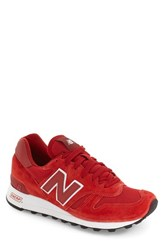 New Balance Men's '1300' Sneaker Red White