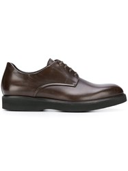 Corneliani Classic Derby Shoes Brown