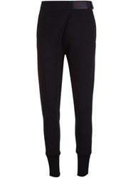 Ann Demeulemeester Gathered Ankle Trousers Black