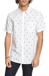 Quiksilver Abstract Boards Woven Shirt Snow White