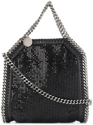 Stella Mccartney Mesh Falabella Bag Black