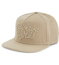 Billionaire Boys Club Script Logo Snapback Oxford Tan