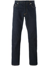 Christian Dior Homme Stretch Slim Fit Jeans Blue