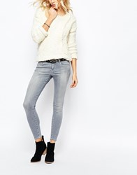 Pepe Jeans Lola Super Stretch Skinny Jean Grey