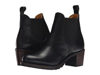 Frye Sabrina Chelsea Black Vintage Pull Up Women's Pull On Boots