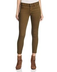 Warp And Weft Jfk Skinny Jeans In Army Green