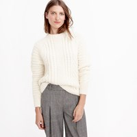J.Crew Pre Order Collection Chunky Cable Sweater