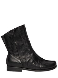 Peter Non Zip Up Smooth Leather Boots