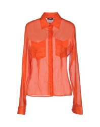Versus Shirts Shirts Women Orange