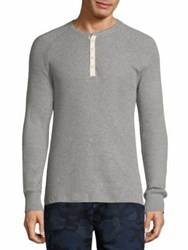2Xist Raglan Henley Tee Light Grey