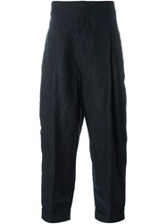 Haider Ackermann Loose Fit Trousers Blue