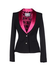 Frankie Morello Suits And Jackets Blazers Women Black