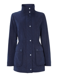 Cloud Nine Micro Quilted Jacket Navy