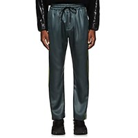 Cmmn Swdn Buck Piping Accented Track Pants Gray