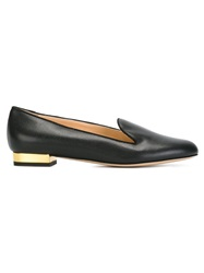 Charlotte Olympia 'Abc' Slippers Black