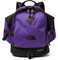 The North Face Wasatch Canvas And Ripstop Backpack Purple