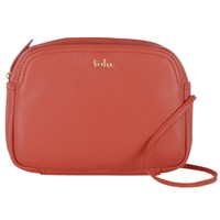 Tula Nappa Originals Leather Small Across Body Bag Red