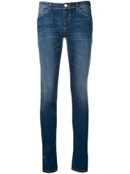 Emporio Armani Faded Slim Jeans Blue