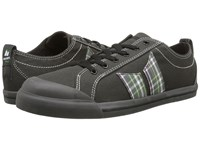 Macbeth Eliot Vegan Dark Grey Plaid Vegan Skate Shoes Gray