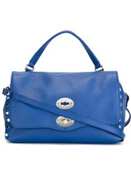 Zanellato Medium 'Postina' Satchel Blue