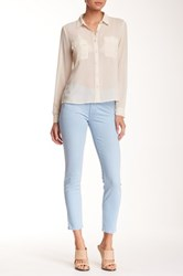 Mother The Muse Ankle Straight Leg Jean Blue
