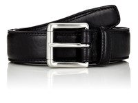 Barneys New York Leather Belt Black