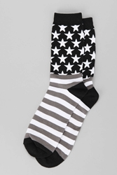 Urban Outfitters Usa Sock Black
