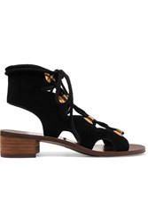 See By Chloe Edna Suede Sandals Black
